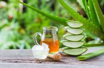 мед и алоэ для здоровья