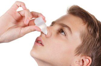 закапывать нос детям